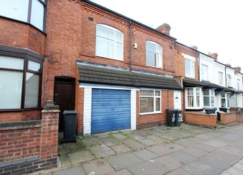 Thumbnail 4 bed terraced house for sale in Duncan Road, Leicester