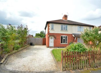 Thumbnail 2 bed semi-detached house for sale in Northfield Avenue, Wigston