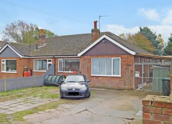 Thumbnail 3 bed semi-detached bungalow for sale in Orby Road, Addlethorpe, Skegness