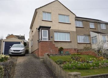 Thumbnail 4 bed semi-detached house for sale in Oakland Road, Newton Abbot, Devon.