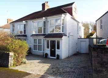 Thumbnail 4 bed semi-detached house for sale in 2 Glenville Road, Mumbles, Swansea