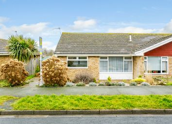 Thumbnail 2 bed semi-detached bungalow for sale in 52 Hazelwood Avenue, Eastbourne