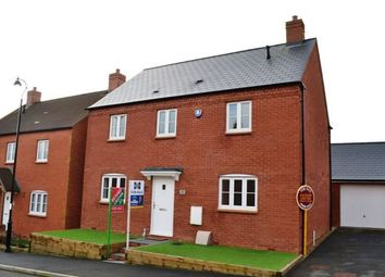 Thumbnail 4 bed detached house for sale in Glebe Road, Roade, Northampton