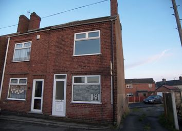 Thumbnail 2 bed end terrace house to rent in Chapel Street, Leabrooks, Alfreton, Derbyshire