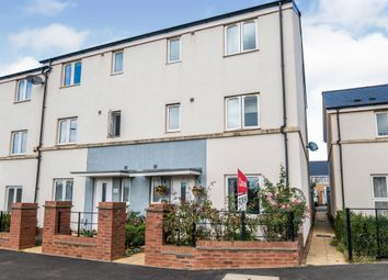 Thumbnail End terrace house for sale in Tillhouse Road, Cranbrook, Exeter
