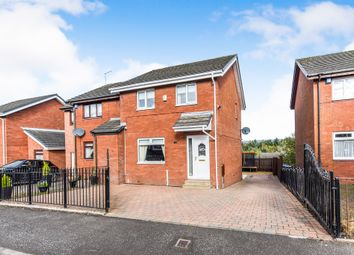Thumbnail Semi-detached house for sale in Mossbank Avenue, Hogganfield, Glasgow