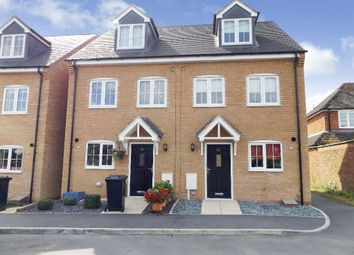 Thumbnail 3 bed end terrace house to rent in Easton Lane, Bozeat, Northamptonshire