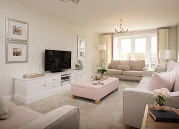 "Thumbnail 5 bedroom detached house for sale in ""Stratford"" at Saxon Court, Bicton Heath, Shrewsbury"