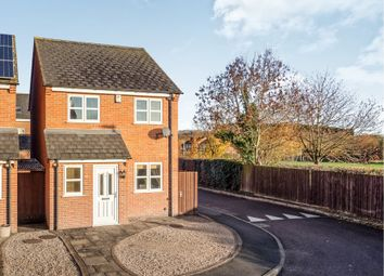 Thumbnail 3 bed detached house for sale in Marriott Close, Asfordby, Melton Mowbray