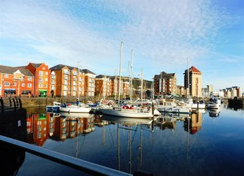Thumbnail 2 bedroom flat to rent in Mannheim Quay, Maritime Quarter, Swansea