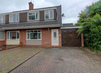 Thumbnail 3 bed semi-detached house for sale in Upton Place, Rugeley