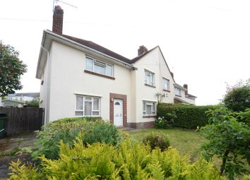 Thumbnail 4 bed semi-detached house for sale in Hamilton Crescent, Hamworthy, Poole