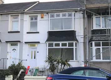 Thumbnail 3 bed terraced house to rent in St Levans Road, Plymouth