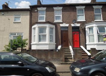 Thumbnail 3 bed terraced house to rent in Salisbury Road, Luton