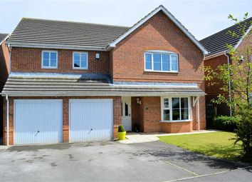 Thumbnail 5 bed detached house for sale in Linden Way, Thorpe Willoughby