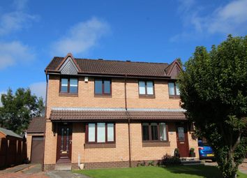 Thumbnail 3 bedroom semi-detached house to rent in Thistle Place, East Kilbride, Glasgow