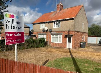 Thumbnail 3 bed semi-detached house for sale in Oval Crescent, Rushden