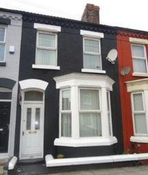 Thumbnail 4 bedroom terraced house to rent in Halsbury Road, Liverpool