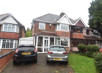 Thumbnail 3 bed semi-detached house for sale in Plaistow Avenue, Hodge Hill, Birmingham