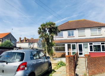Thumbnail 3 bedroom semi-detached house to rent in Southdownview Road, Worthing, West Sussex