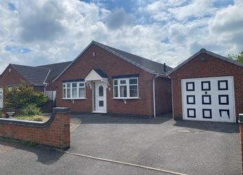 Thumbnail 3 bed detached bungalow for sale in Silverhill Close, Stretton, Burton-On-Trent