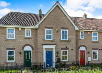Thumbnail 2 bed terraced house for sale in Whitebeam Crescent, Watton, Thetford