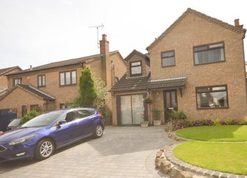 Thumbnail 4 bedroom detached house for sale in Fanshaw Close, Eckington, Sheffield