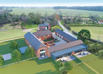 Thumbnail 4 bed barn conversion for sale in Cowlinge, Newmarket