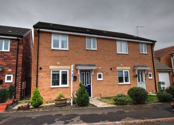 Thumbnail 3 bed semi-detached house for sale in Whittle Rise, Crofton Grange Estate, Blyth