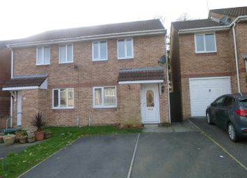 Thumbnail 2 bed semi-detached house to rent in Blackberry Drive, Barry