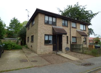 Thumbnail 1 bed end terrace house to rent in Carnoustie Drive, Lowestoft