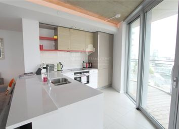 Thumbnail 3 bed flat for sale in Hoola Building, West Tower, Royal Victoria, London
