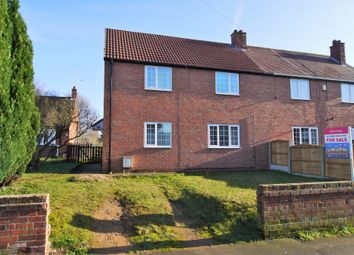 Thumbnail 3 bed semi-detached house for sale in Attlee Avenue, New Rossington, Doncaster