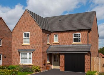 """Thumbnail 4 bed detached house for sale in """"Exeter"""" at Johnsons Road, Fernwood, Newark"""
