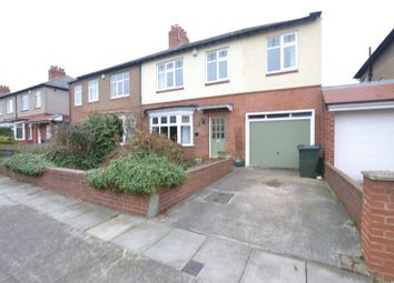 Thumbnail 4 bedroom semi-detached house for sale in Eastlands, High Heaton, Newcastle Upon Tyne