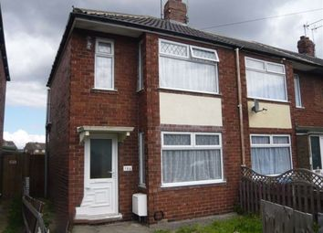 Thumbnail 2 bed terraced house to rent in Worcester Road, West Hull
