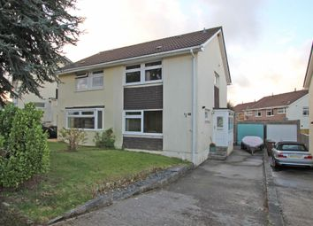 Thumbnail 3 bed semi-detached house for sale in Holcombe Drive, Goosewell, Plymouth