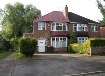 Thumbnail 3 bed property to rent in Glyn Road, Quinton, Birmingham