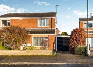 Thumbnail 2 bed semi-detached house for sale in Scholey Avenue, Woodsetts, Worksop