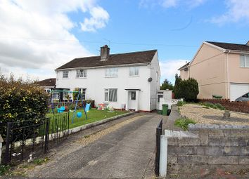 Thumbnail 3 bed semi-detached house for sale in Heol Johnson, Talbot Green, Pontyclun, Rhondda, Cynon, Taff.