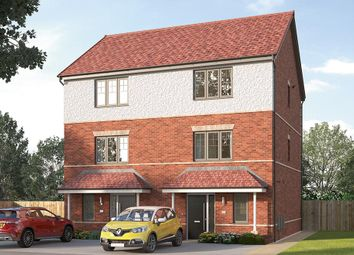 "Thumbnail 3 bed semi-detached house for sale in ""The Paignton"" at Longwall Road, Pontefract"