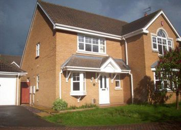 Thumbnail 4 bedroom detached house to rent in Monks Crescent, Thurcaston