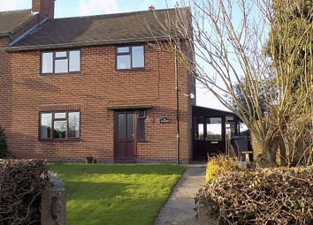 Thumbnail 3 bed semi-detached house for sale in Rodsley Lane, Yeaveley, Nr Ashbourne, Derbyshire