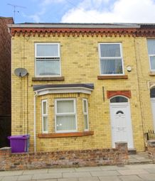 Thumbnail 4 bed end terrace house for sale in Robarts Road, Anfield, Liverpool