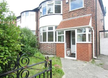 Thumbnail Semi-detached house to rent in Woodstock Road, Firswood, Manchester
