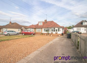 Thumbnail 2 bed semi-detached bungalow to rent in Icknield Way, Luton