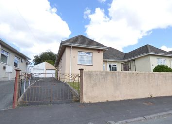 Thumbnail 2 bedroom semi-detached bungalow for sale in Seymour Road, Plympton, Plymouth