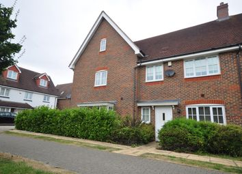 Thumbnail 3 bed terraced house to rent in Regent Way, Kings Hill, West Malling