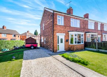 Thumbnail 3 bed end terrace house for sale in Kathleen Avenue, Scunthorpe