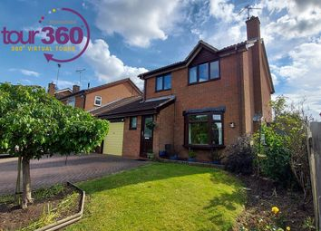 Thumbnail 3 bed detached house for sale in Coniston Road, Peterborough